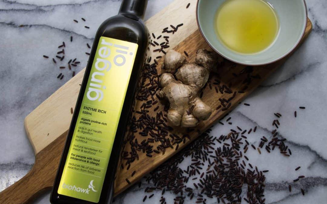 Biohawk Ginger Enzyme Oil